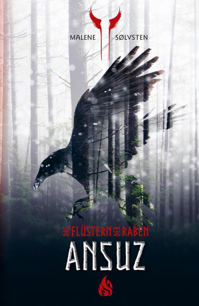 Bücherblog. Neuerscheinungen. Buchcover. Ansuz - Das Flüstern der Raben (Band 1) von Malene Sølvsten. Fantasy. Arctis Verlag.